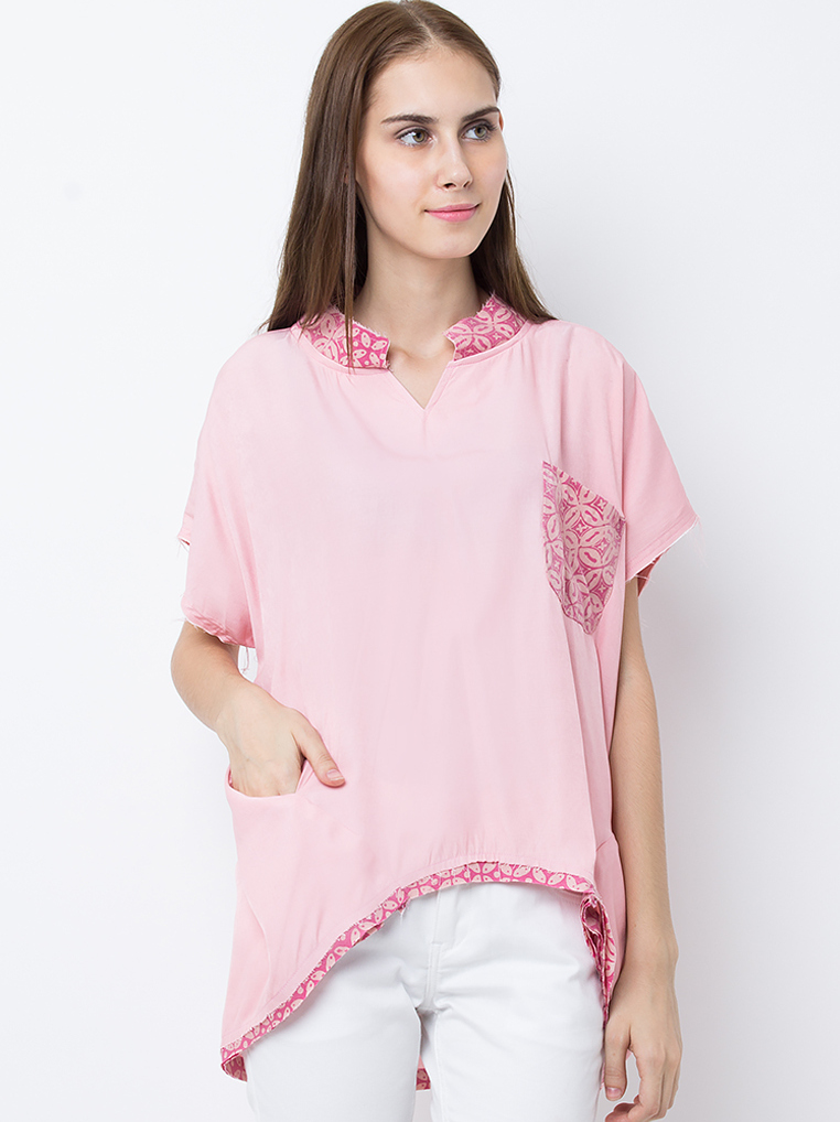 Patch Horre Tops [Soft Pink]